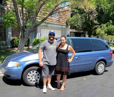 Nicole & Ash's Van