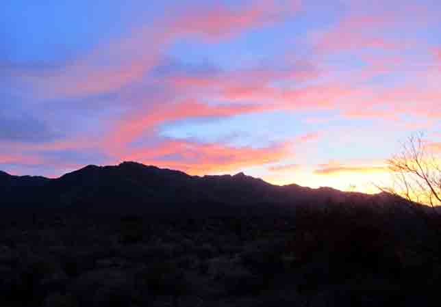 Sunset Mojave Preserve