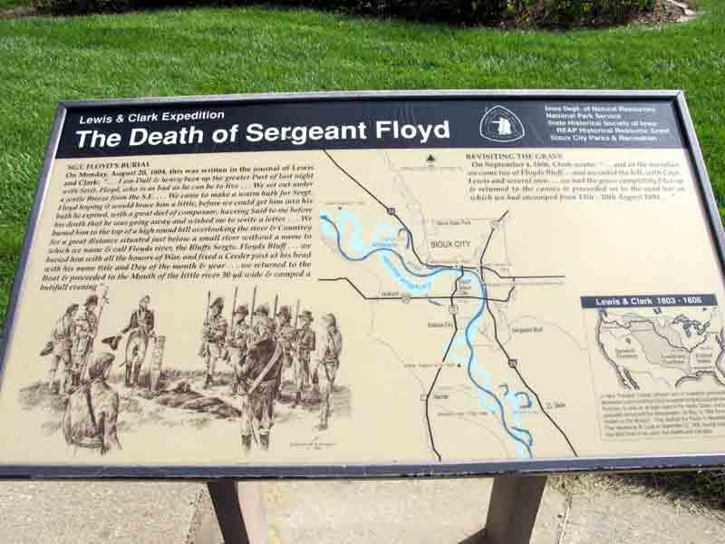 Sergeant Floyd Monument