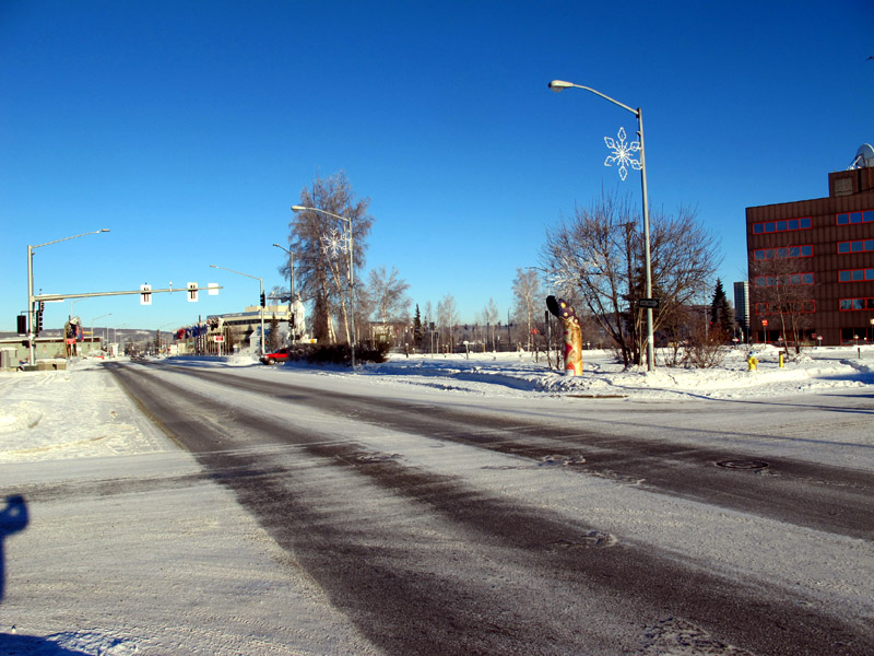 Streets of Fairbanks