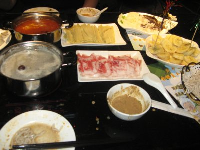Meal for Hot pot