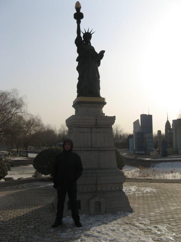 mini-Statue of Liberty