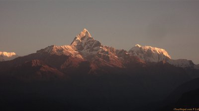 Himalayas from Pokhara