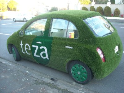 teza tea car!