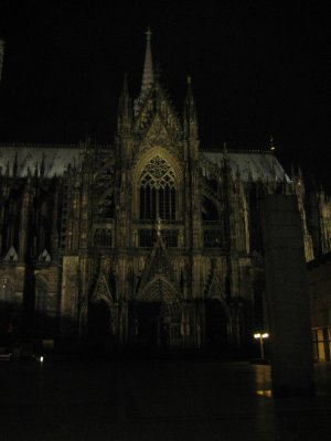 Cologne Cathedral at Night -2