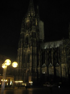 Cologne Cathedral at Night -1