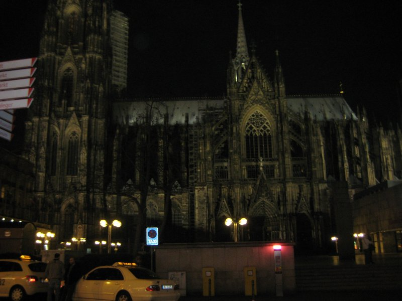 Cologne Cathedral at Night -3
