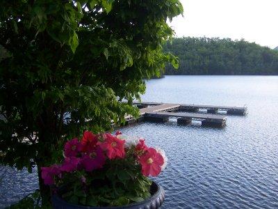The Dock on Lake Santeetlah