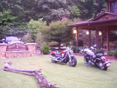 Speed TV Filming at Blue Waters Mountain Lodge