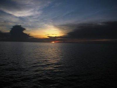 Sun Sets over Andaman Sea, Koh Tao