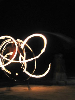 Fire Spinners on Koh Phi Phi