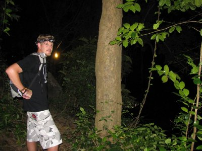 Midnight Hike Through The Jungle...