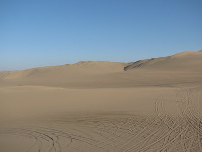 Sand Dunes of Huacachina, Ica Peru