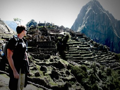 MAX on top of Machu Picchu