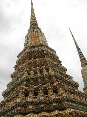 Mosaic Chedi, Wat Pho Bangkok