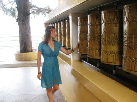 Spinning the Prayer wheels..