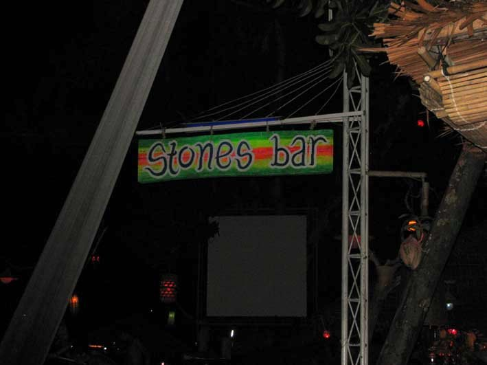 Stones Bar was the place to be!
