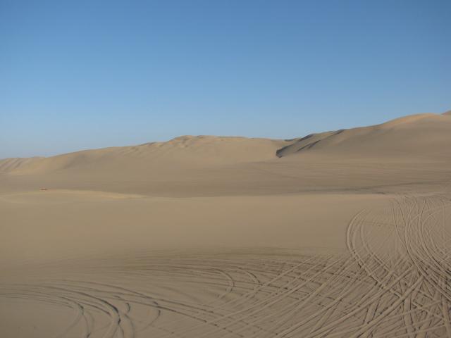 Sand Dunes of Huacachina, Ica Peru