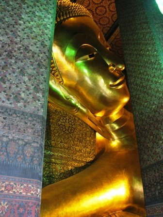 Head of the Reclining Buddha