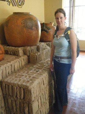 Huaca Pucllana Pottery