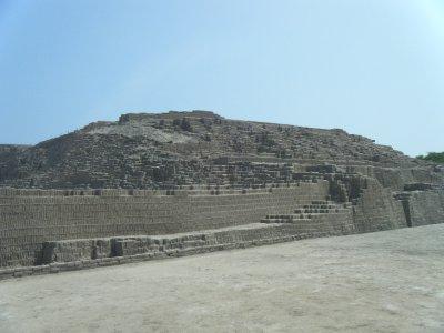 Main Square Huaca Pucllana