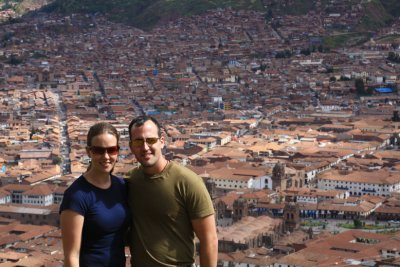 View of Cuzco