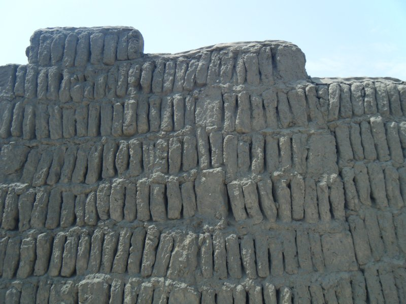 Other Walls at Huaca Pucllana
