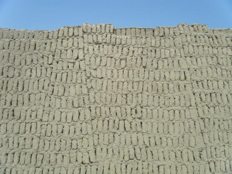 Walls at Hauca Pucllana
