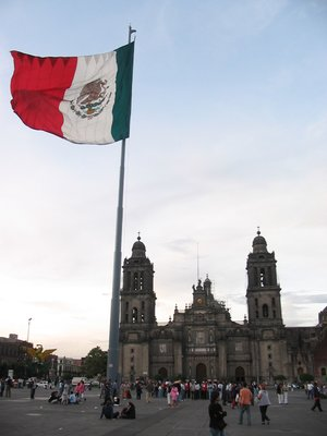 The Zocalo (Mexican Main Square)