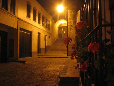 Hidden Street in Arequipa