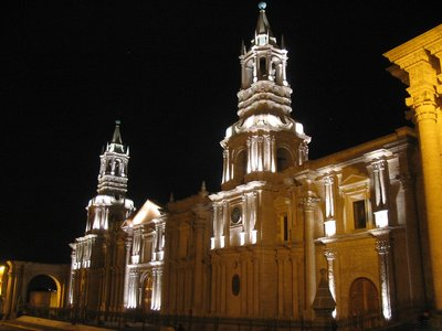 The Main Cathedral of Arequipa