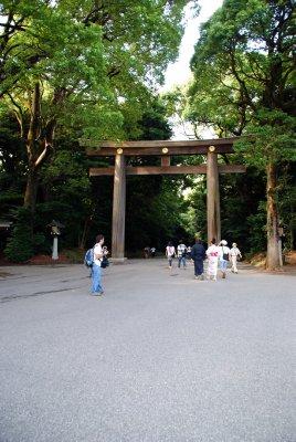 Meiji-jingū Schrein
