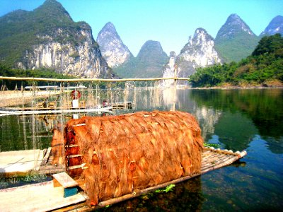LI RIVER BOAT AND NETS