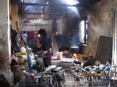 Batik factory