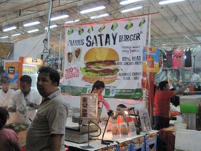 Satay Burger?