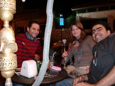 A night out in Amman with 2 locals