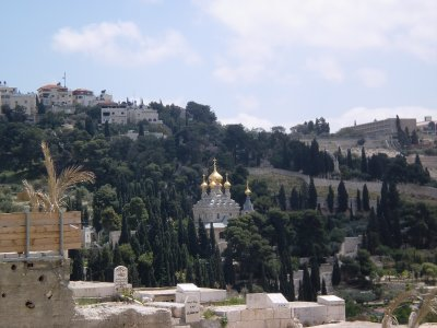 St. Mary Magdalene Church on the Mount of Olives