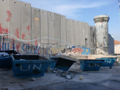 Apartheid Wall in Bethlehem
