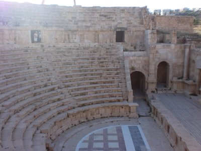 North Theater in Jerash