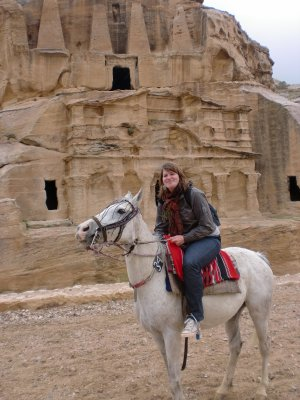 free horse ride in Petra