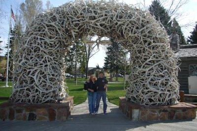 Andrew and I - Jackson Wyoming  May 18, 2010