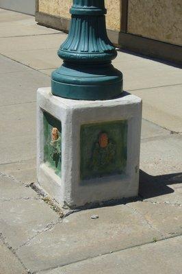 Corny Light Post
