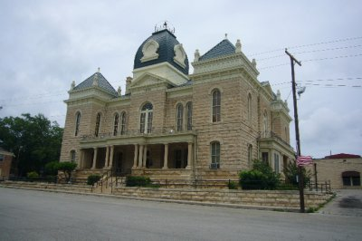 Crockett County Courthouse Ozona TX