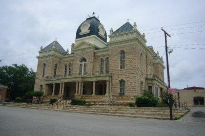 Crockett County Courthouse Ozona TX