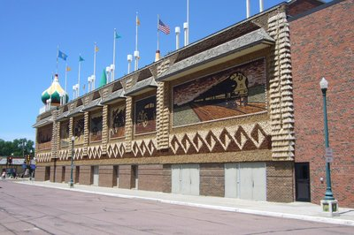 Side View of the Corn Palace
