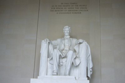 The Lincoln Memorial 4.24.2010