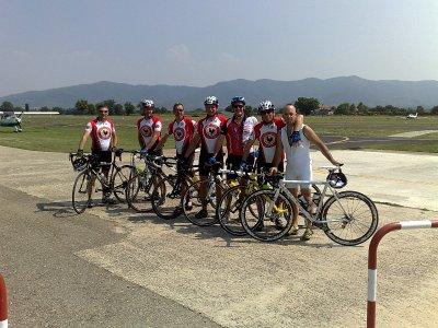 The Gallo Nero team ( and one Gallo Bianco)