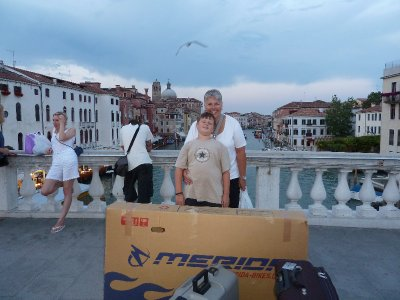 In Venezia at last