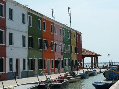 Fishing houses, Burano