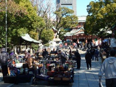 At Tomioka Hachimangu Shrine